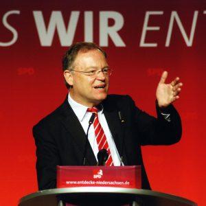 Stephan Weil in Walsrode (Foto: SPD in Niedersachsen)