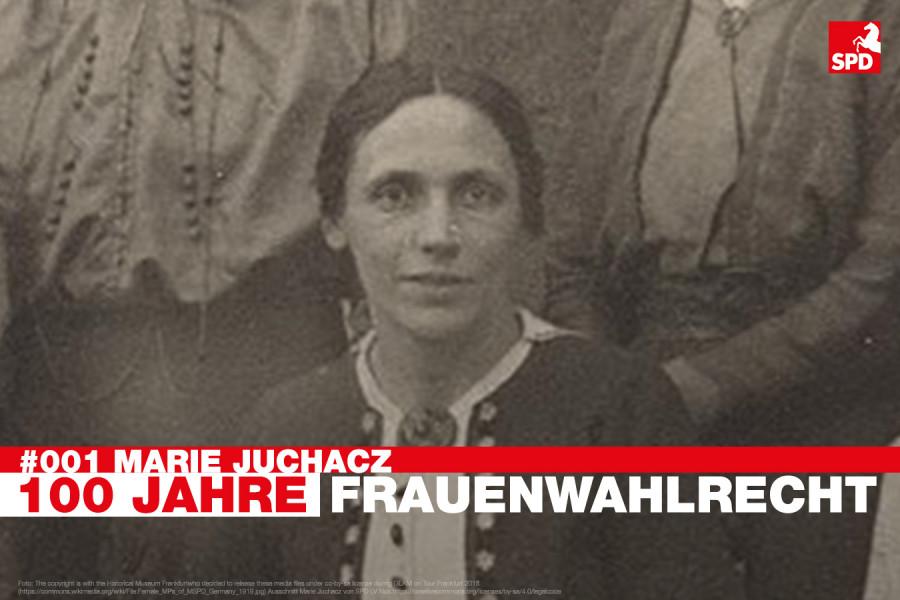 #001 Marie Juchacz