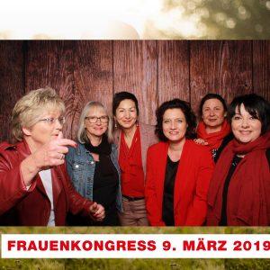 Gruppenbild mit Frauke Heiligenstadt, Gudrun Schriever, Immacolata Glosemeyer, Carola Reimann, dem mentee von Monika Cibura und Monika Cibura (v.l.)