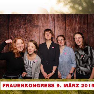 Unsere Jusos auf dem Frauenkongress (Bild 1)