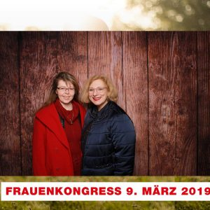 Unsere MdB Daniela De Ridder (r.) mit ihrem Mentee Karin Pauls