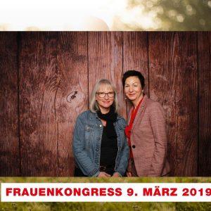 Unsere MdL Immacolata Glosemeyer (l.) mit ihrem Mentee Gudrun Schriever