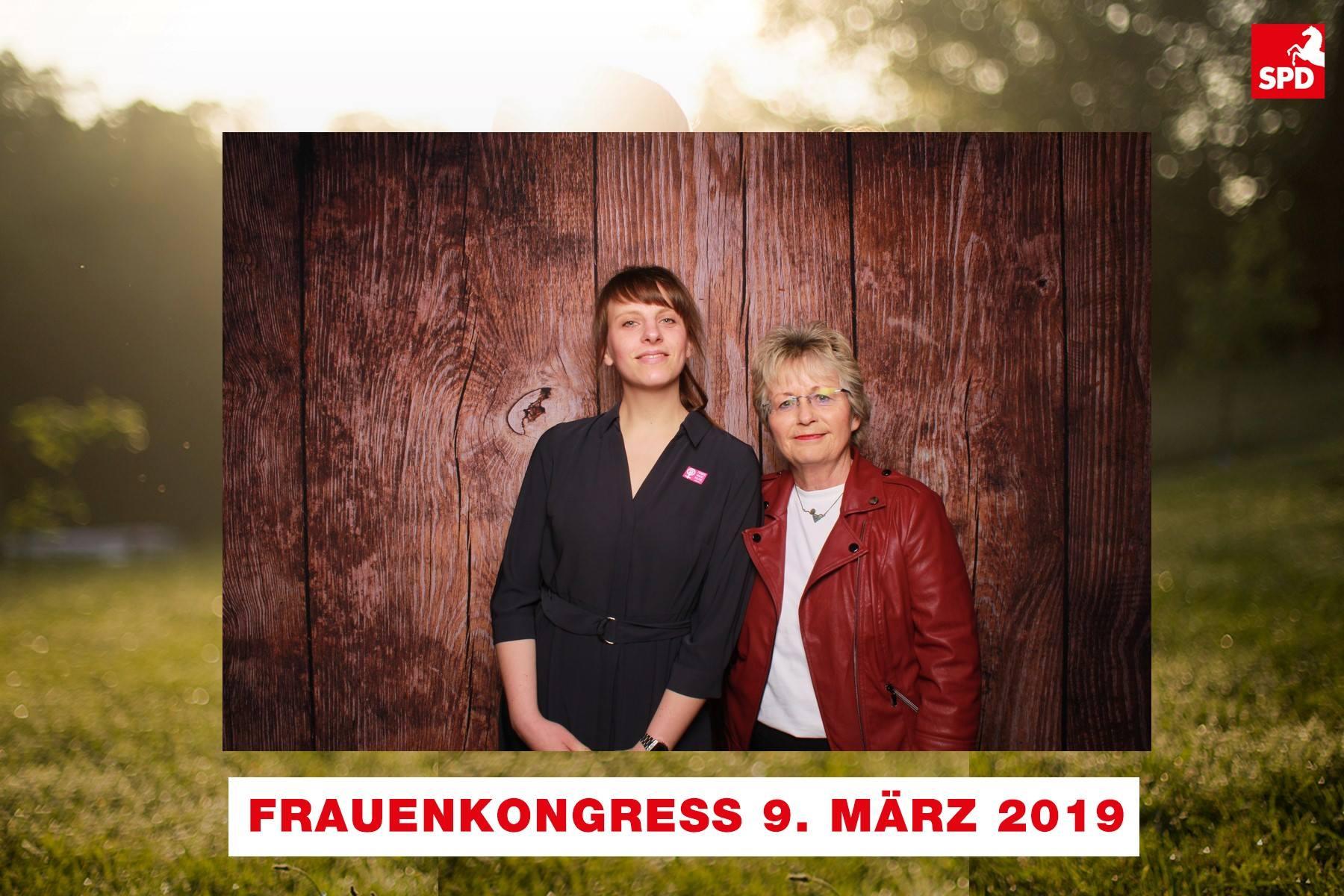 Unsere MdL Frauke Heiligenstadt (r.) mit ihrem Mentee Kathrin Schrader